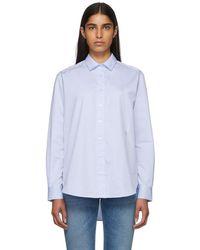Totême  - Blue Capri Shirt - Lyst