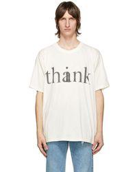 Gucci オフホワイト And ブラック Thank T シャツ