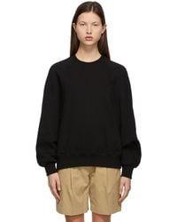 Low Classic Classic Stitch Sweatshirt - Black