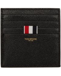 Thom Browne - Black Double-sided Card Holder - Lyst