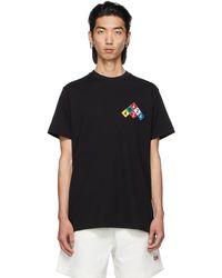 424 - ブラック Embroidered ロゴ T シャツ - Lyst