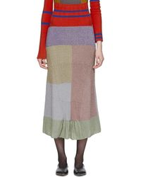 Kiko Kostadinov Multicolour Knit Lenina Skirt