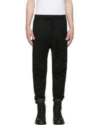 Ueg - Black Biker Trousers - Lyst