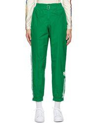 adidas Originals - Paolina Russo Edition グリーン ストライプ ラウンジ パンツ - Lyst