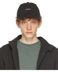 Affix Black Ripstop Logo Cap