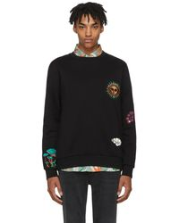 Paul Smith | Black Embroidered 1974 Sweatshirt | Lyst