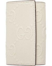 Gucci - Off-white ' Signature' Tennis Key Case - Lyst