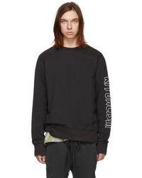 Ksubi - Black Disposable Decon Sweatshirt - Lyst
