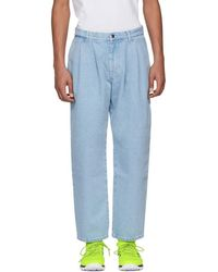 Gosha Rubchinskiy - Blue Classic Jeans - Lyst