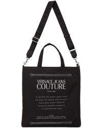 Versace Jeans Couture ブラック トート