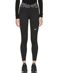 Nike - Black Intertwist Leggings - Lyst