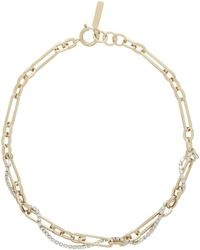 Justine Clenquet Gold Paloma Necklace - Metallic
