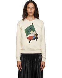 Lanvin Off-white Babar Edition King Sweatshirt