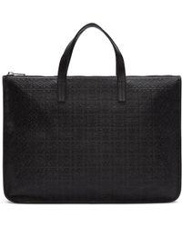 Loewe - Black Anagram Briefcase - Lyst