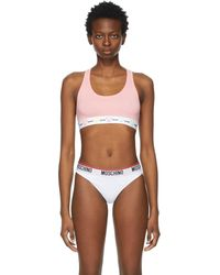 Moschino Soutien-gorge rose teddy