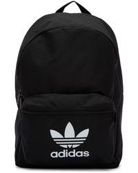 adidas Originals - ブラック アディカラー クラシック トレフォイル バックパック - Lyst
