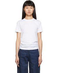 Acne Studios White Dorla E Base T-shirt