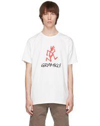 Gramicci - ホワイト ロゴ T シャツ - Lyst