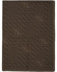 Fendi - ブラウン フェード Forever スカーフ - Lyst