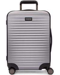 Ermenegildo Zegna Silver Leggerissimo Cabin Suitcase - Metallic