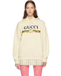 Gucci Sequined Cotton Hoodie - Multicolour
