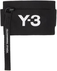Y-3 - Pochette noire Mini Wrist - Lyst