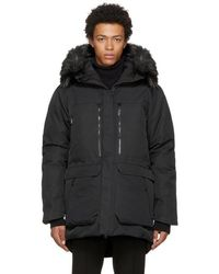 The North Face - Black Down Cryos Gtx Expedition Parka - Lyst