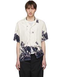 Christian Dada - Off-white Nobuyoshi Araki Edition Flower Print Shirt - Lyst