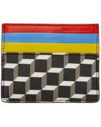 Pierre Hardy - Multicolour Cube Card Holder - Lyst