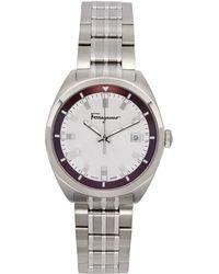 Ferragamo シルバー Evolution 腕時計 - メタリック