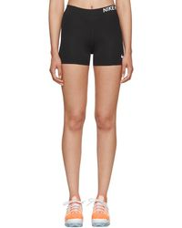 Nike - Black Dri-fit Tech Pro Base Layer Shorts - Lyst