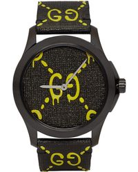 Gucci - Black And Yellow G-timeless Ghost Watch - Lyst