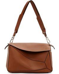 Loewe Leather Bag - Brown