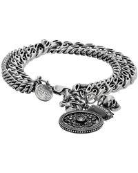 Alexander McQueen Silver Beetle Bracelet - Metallic