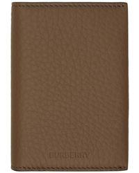 Burberry - ブラウン カード ケース - Lyst