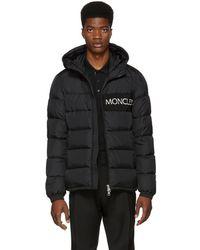 Moncler - Black Down Aiton Jacket - Lyst