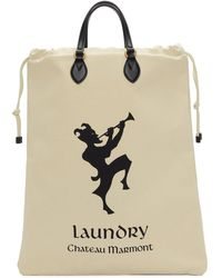 Gucci - White Chateau Marmont Laundry Tote - Lyst