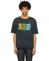 Alchemist T-shirt noir à logo