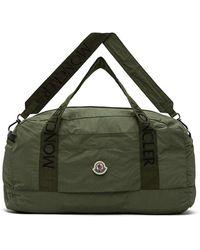 Moncler Green Nylon Duffle Bag