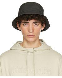 thisisneverthat Black New Era Edition Paclite Bucket Hat
