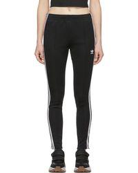 adidas Originals - Black Sst Track Pants - Lyst