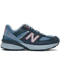 New Balance Baskets bleues 990 v5 Made In US