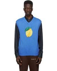 AWAKE NY Veste bleue Lemon