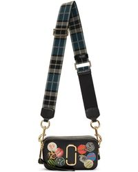Marc Jacobs - Black Snapshot Badges Bag - Lyst