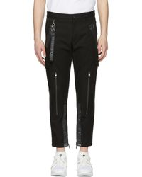 Dolce & Gabbana | Black Cargo Trousers | Lyst