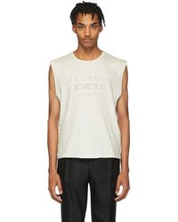 Saint Laurent - オフホワイト Trouble Every Day T シャツ - Lyst