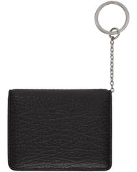 Maison Margiela Black Keychain Card Holder