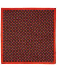 MISBHV ブラック And レッド モノグラム スカーフ