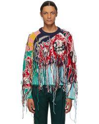 CHARLES JEFFREY LOVERBOY - マルチカラー Guddle Tassle セーター - Lyst