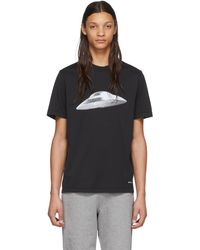 PS by Paul Smith - ブラック Flying Saucer T シャツ - Lyst